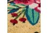 Felpudo de fibra de coco de 60x40 rosa oriental Sol Naciente para la entrada