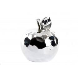 Figura manzana decoracion porcelana 13x15 cm