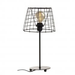 Lámpara escritorio nórdica negra industrial de metal para salón Factory .