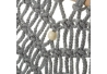 Tapiz decorativa macrame algodon 45x84 cm