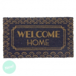 Felpudo de fibra de coco Welcome Home portobello 40x70