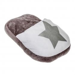 Calientapies estrella gris