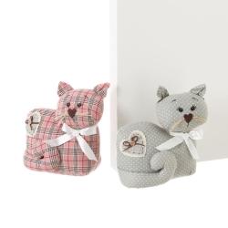 Sujetapuertas de gato de tela / arena romántico para salón Bretaña