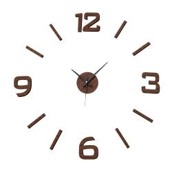 Reloj de pared de polipropileno marrón moderno para salón Factory
