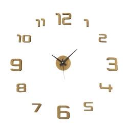 Reloj de pared de polipropileno beige moderno para salón Factory