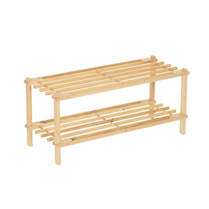 Banco auxiliar minimalista marrón de madera para cuarto de baño ...