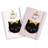 Libreta moleskin cat lover 13x19 Pack 2 ud.