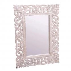Mural de espejo tallada natural 45x60 cm