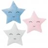 Juego de 3 cojines relax extrasuave en forma de estrella