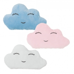 Juego de 3 cojines relax extrasuave en forma de nube