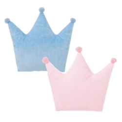 Juego de 2 cojines relax extrasuave en forma de corona