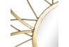 Espejo de pared clásico dorado de metal para salón de 80 cm Fantasy
