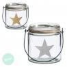 Portavelas candelabro estrellas ( Pack 2 candelabros )