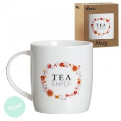 Mug ceramica tea time .