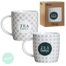 Set 2 tazas tea time