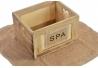 Caja set 6 toalla de algodon