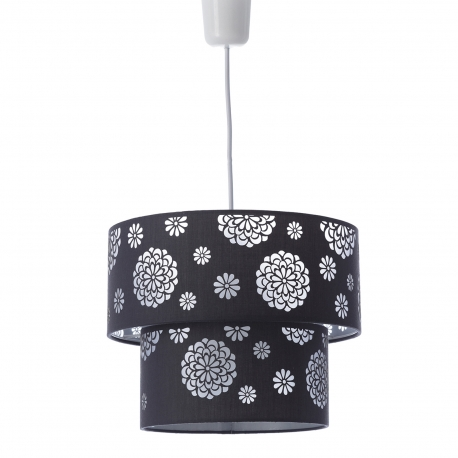 Lámpara de techo moderna gris de poliéster para salón Factory