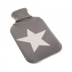 Bolsa agua caliente de 2 litros estrella gris