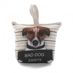 Sujetapuertas poliester perro