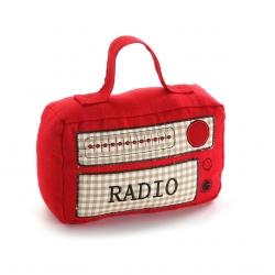 Sujetapuertas radio roja