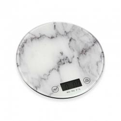 Peso cocina para ingredientes estilo marmol