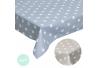 Mantel mesa antimanchas estrellas bistro 145x145 cm
