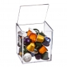 Portacapsulas metacrilato para capsulas nespresso o dolcegusto