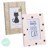 Pack 2 Portafotos cat lover tamaño 10x15