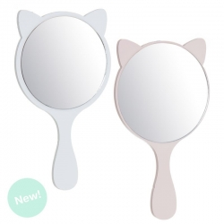 Set 2 espejos de mano cat lover
