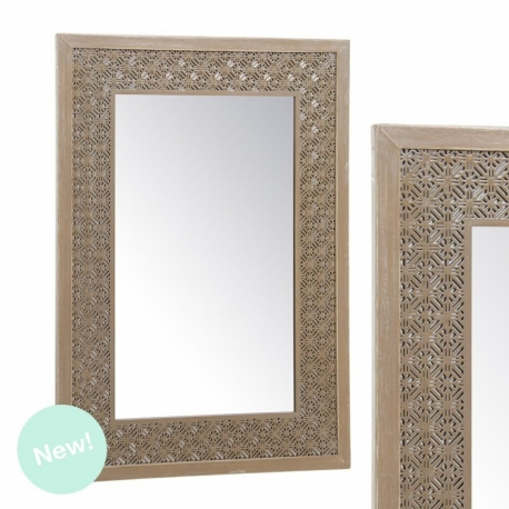 Espejo de pared troquelado 40x60 cm