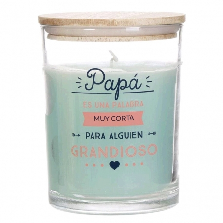 "Vela aromatica ""PaPa"" duracion 70 HORAS"