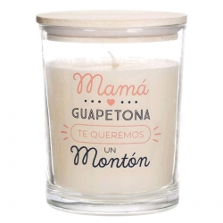 """Vela aromatica """"MaMa"""" duracion 70 HORAS"""