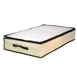 Guardamanta bajo cama color natural