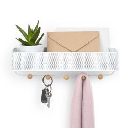 Estique organizador, Metal, Color blanco