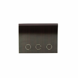 Colgador magnético para llaves con compartimento para correo