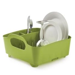 Escurridor de platos y vasos, escurreplatos, color verde