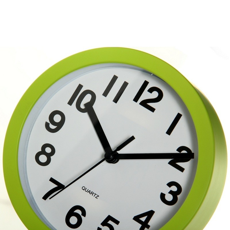 Reloj pared moderno liso pl stico 15cm ideal para cocina - Reloj de pared modernos ...