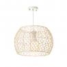 Lámpara colgante de rattan natural beige moderno para salón France
