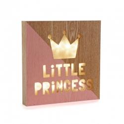 Caja de luz para dormitorio de princesa