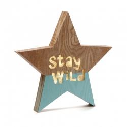 Caja de luz forma estrella STAR WILD