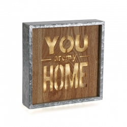 Caja de luz vintage YOU HOME