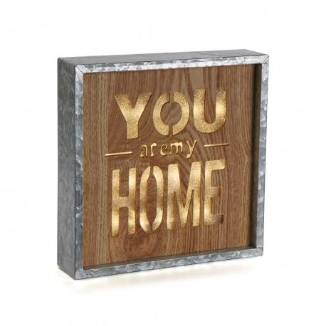 Caja de luz vintage you home - Caja de luz de madera ...