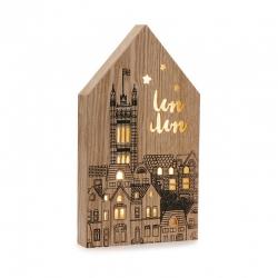 Caja de luz forma casa HOME