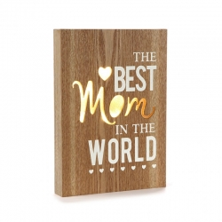Caja de luz THE BEST MOM