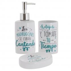 """Accesorios de baño modernos """"CANTANDO""""de cerámica para cuarto de baño"""