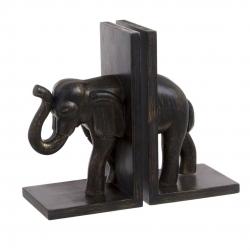 Sujetalibros resina elefante .