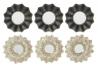 Set 6 Espejos de pared clásicos para decoración Vitta