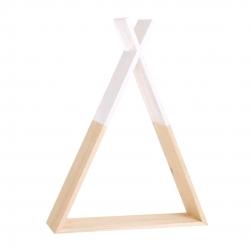 Estanteria tipi madera infantil natural blanca