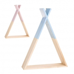 Estanteria tipi madera infantil color