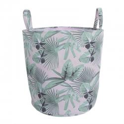 Cesto pongotodo tropical para ropa sucio